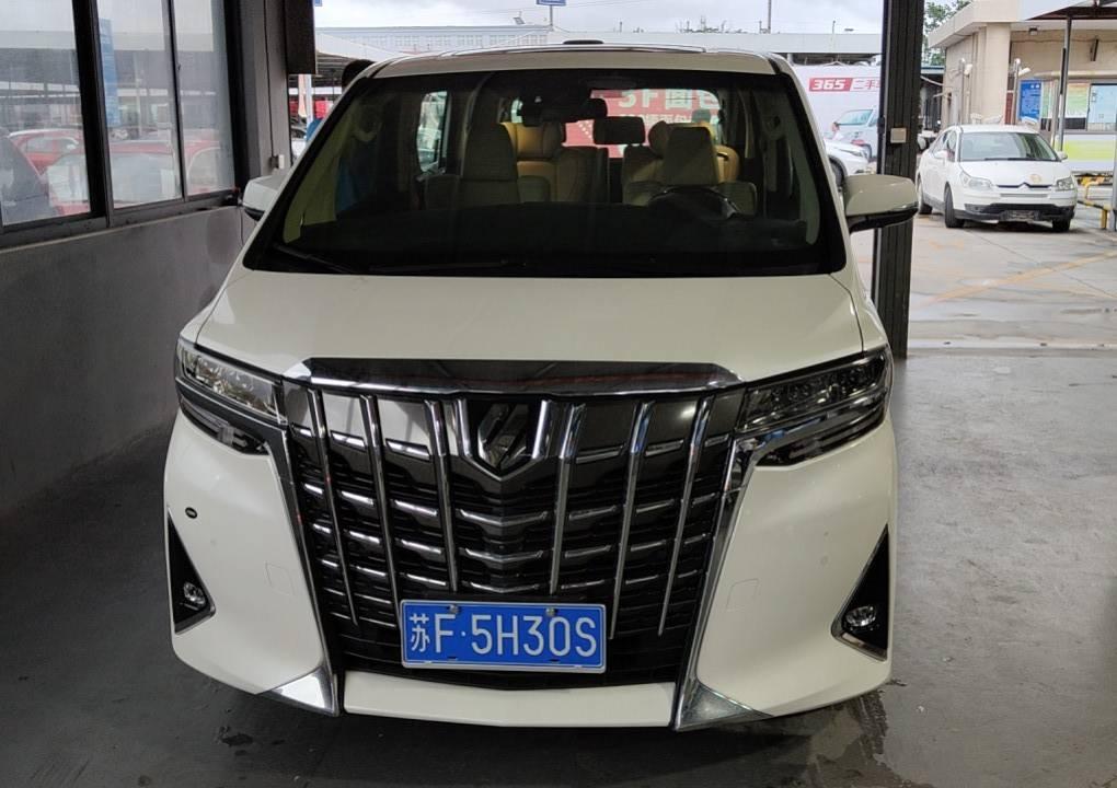 丰田 2018款 埃尔法(进口) 3.5L 尊贵版
